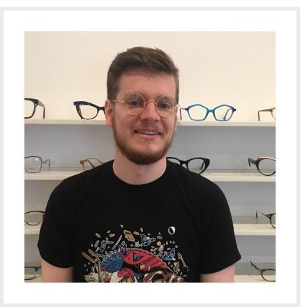 Tim in genuine vintage frames